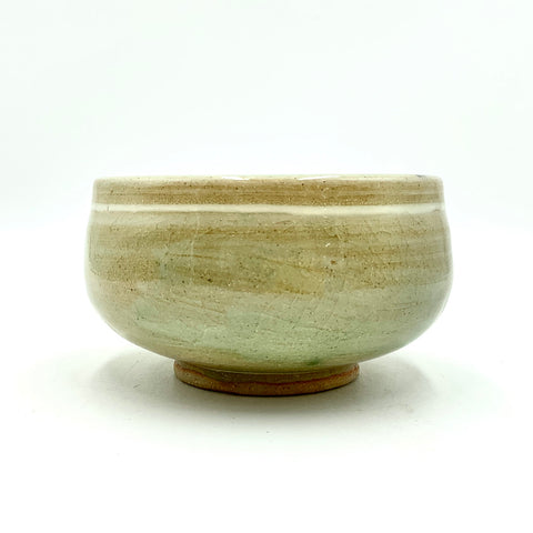 Handmade Pottery Cereal Bowl  - Celadon