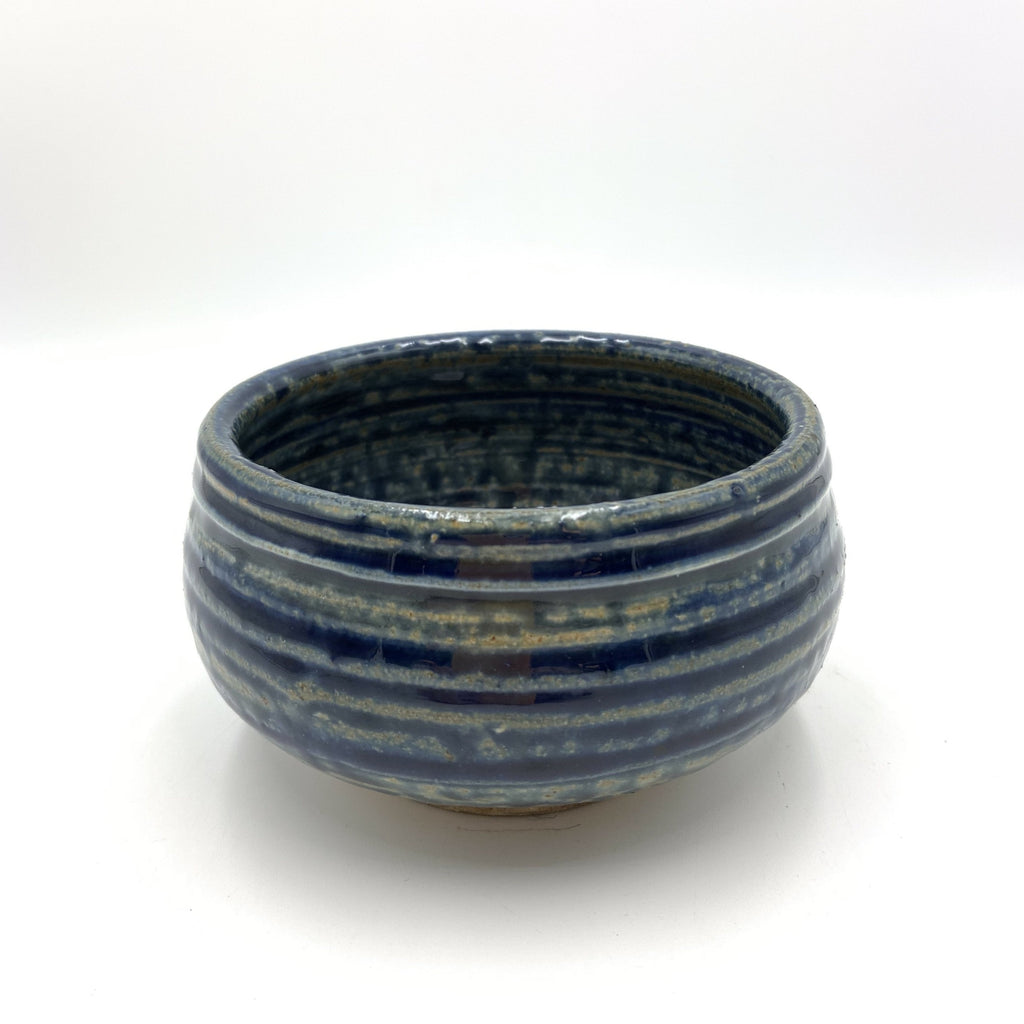 Handmade Pottery Cereal Bowl: Lake Superior Blue