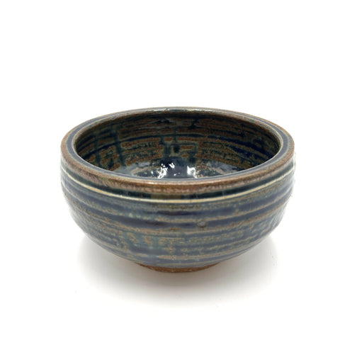 Handmade Pottery Cereal Bowl - Lake Superior Blue