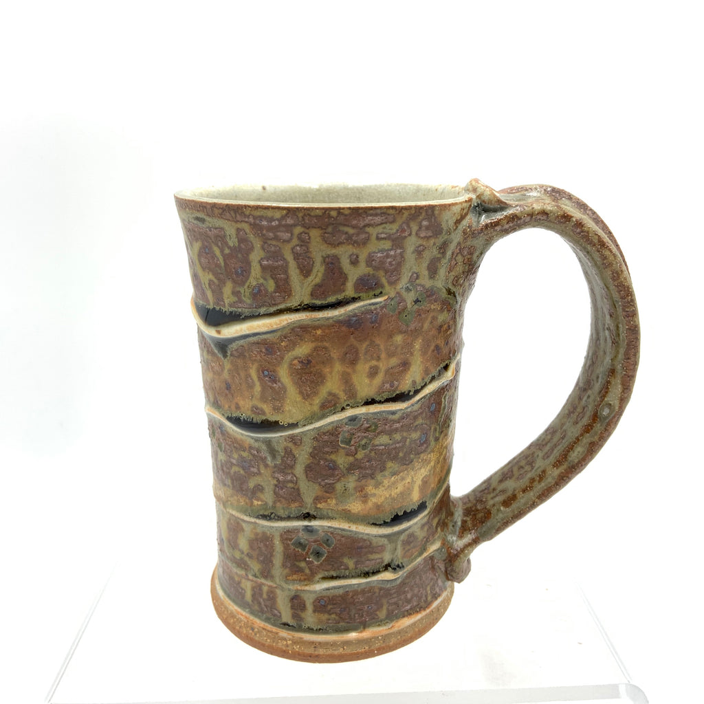 Handmade Pottery Mug - Door County Red Pine