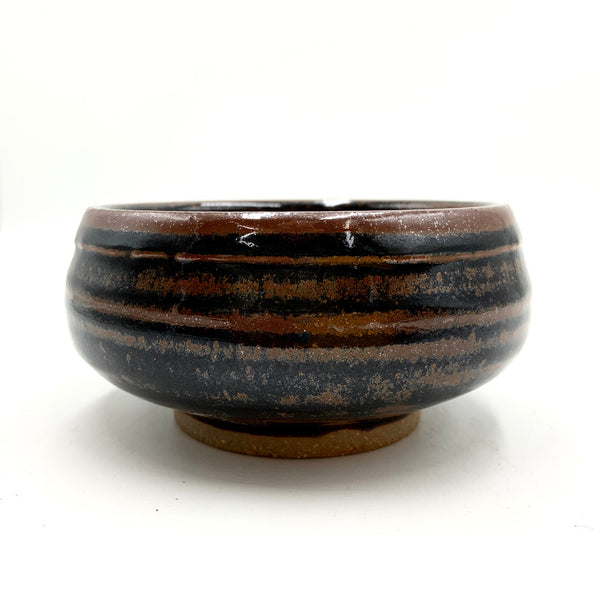 Handmade Pottery Cereal Bowl - Seacrest Brown