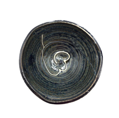 Handmade Small Pottery Bowl - Lake Superior Bluw Collection