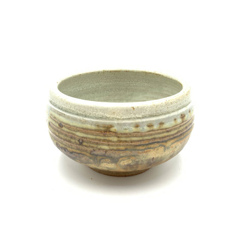 Handmade Pottery Cereal Bowl - Door County Beaches