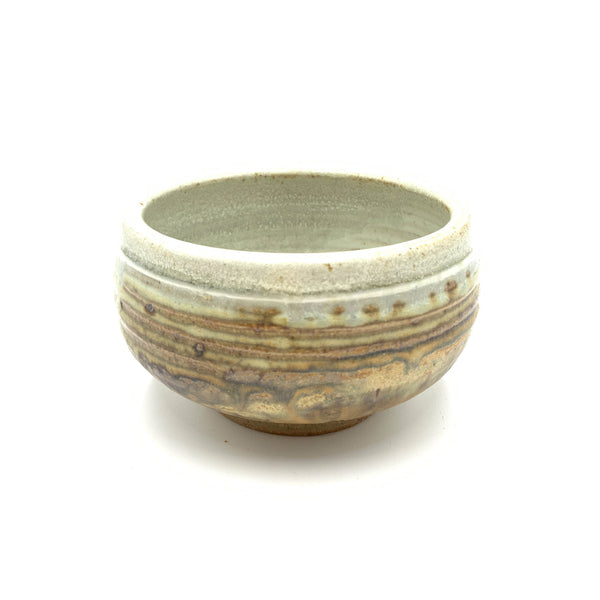 Handmade Pottery Cereal Bowl: Door County Beaches