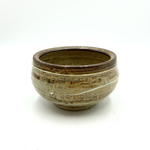 Handmade Pottery Cereal Bowl - Red Pine
