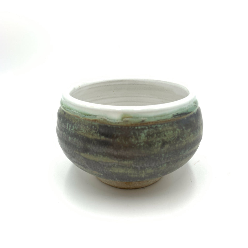 Handmade Pottery Cereal Bowl - Lichen