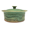 Handmade Pottery Baking Dish (M): Door County Spring Green