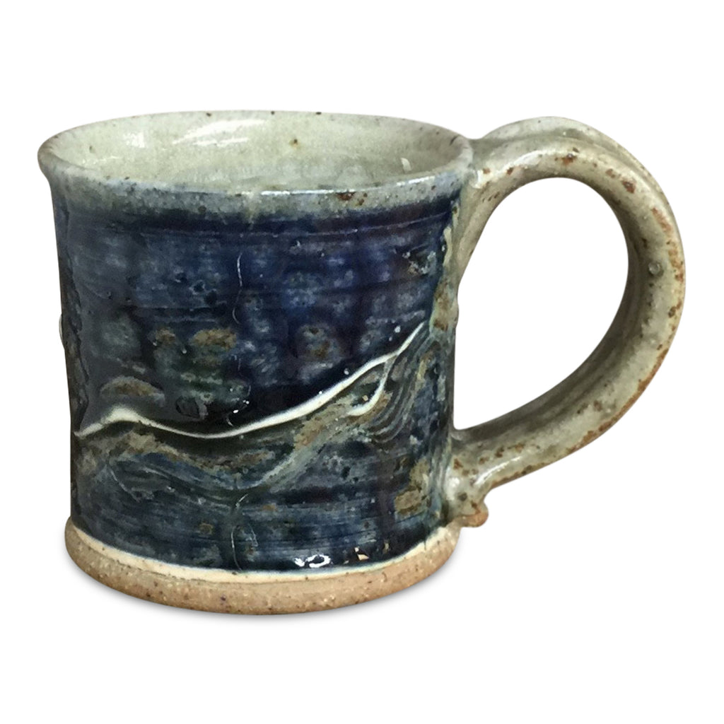 Small Mug-Lake Superior, Mug - Ellison Bay Pottery Studios