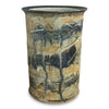 Crock-L-Death's Door, Crock, Wine Cooler, Utensil Holder - Ellison Bay Pottery Studios