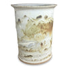 Crock-M 'Door County Beaches', Crock, Wine Cooler, Utensil Holder - Ellison Bay Pottery Studios