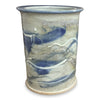 Crock-M 'Door County Blue, Crock, Wine Cooler, Utensil Holder - Ellison Bay Pottery Studios