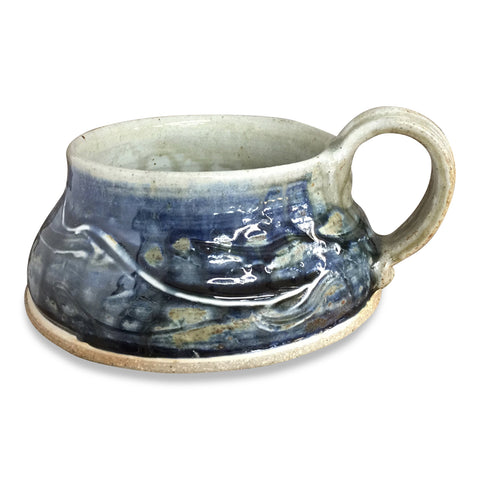 Soup Mug-Lake Superior, Soup Mug - Ellison Bay Pottery Studios