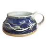 Soup Mug 'Door County Sky', Soup Mug - Ellison Bay Pottery Studios