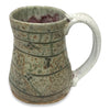 Handmade Pottery Mink River Green Travel Mug