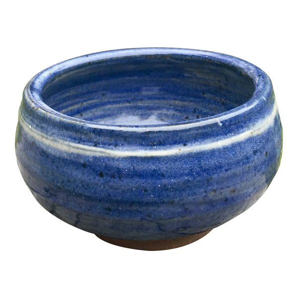 Blue Handmade Pottery Cereal Bowl