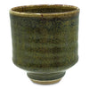 Handmade Pottery Moss Green Tea Bowl
