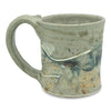 Handmade Pottery Mug (S): Door County Arbor Vitae Green