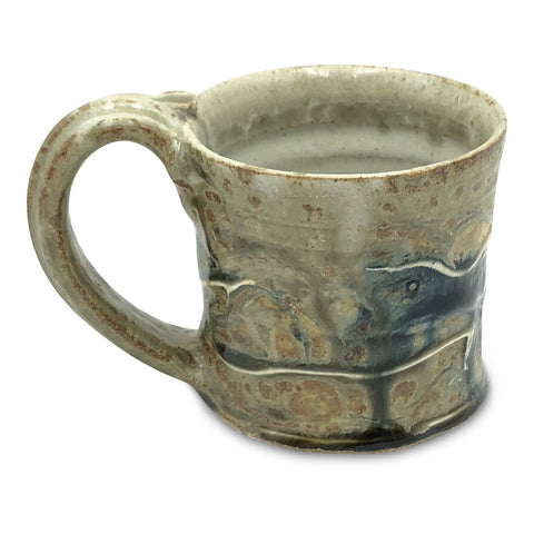 Handmade Pottery Mug (S) : Lake Michigan Blue