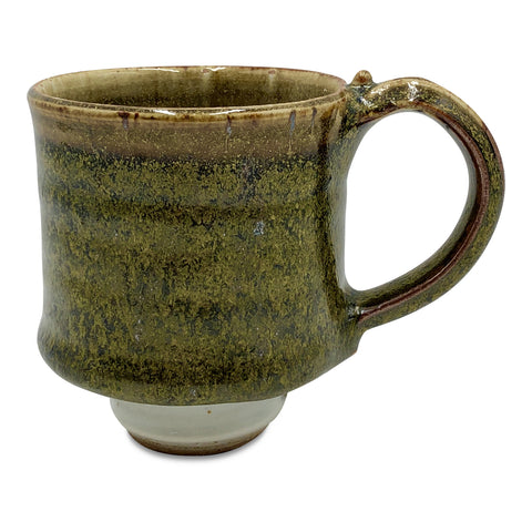 Handmade Pottery Mug (S) - Peninsula Brown Moss