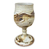 Handmade Pottery Door County Beaches Goblet
