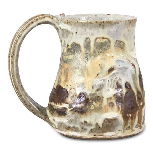 Handmade Pottery Golden Beaches Mug