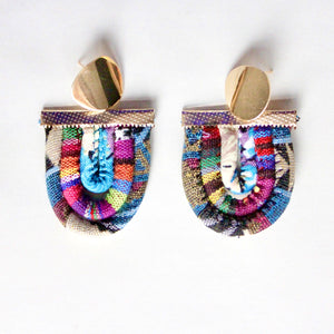 ZEAL - Multicoloured Rope Statement Necklace & Earring Set – Fuchsia