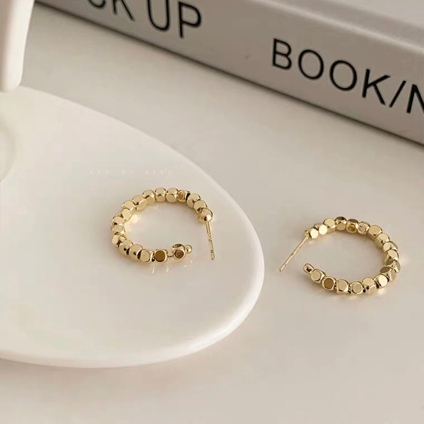 Karina Hoop Earrings