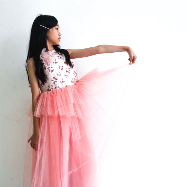 Pink Tulle Princess Dress