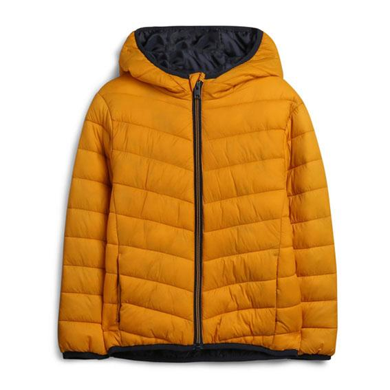 Ultra Light Weight Mustard Puffer Jacket