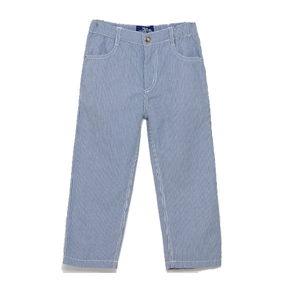 Blue Striped Peter Trousers