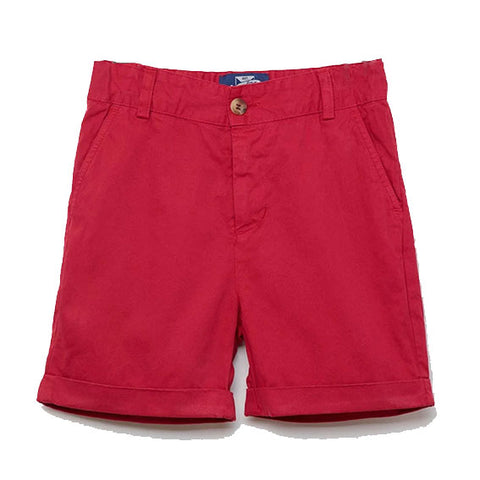 Charlie Chino Shorts (Red)