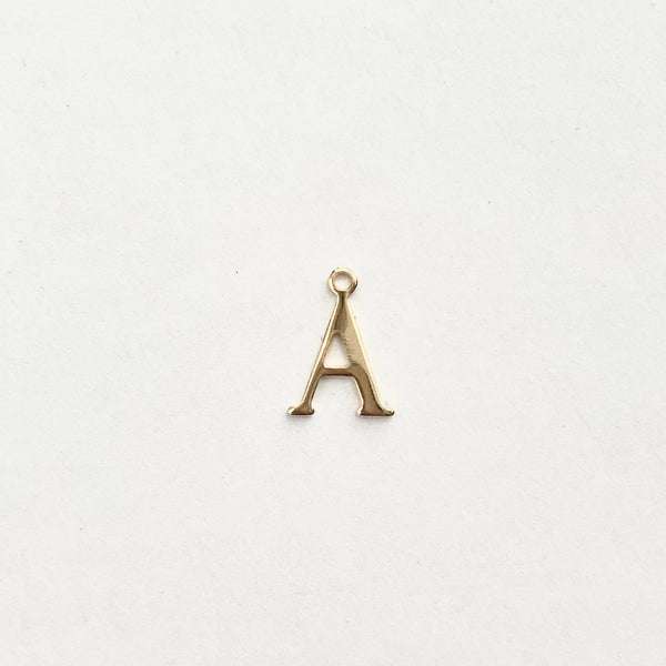 Monet Initial Alphabet Charms
