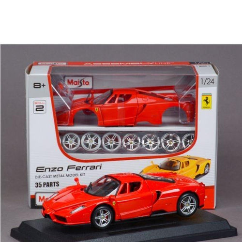Maisto Diecast Ferrari Enzo Metal Car Kit 1:24 Scale - The Little Toy Shop