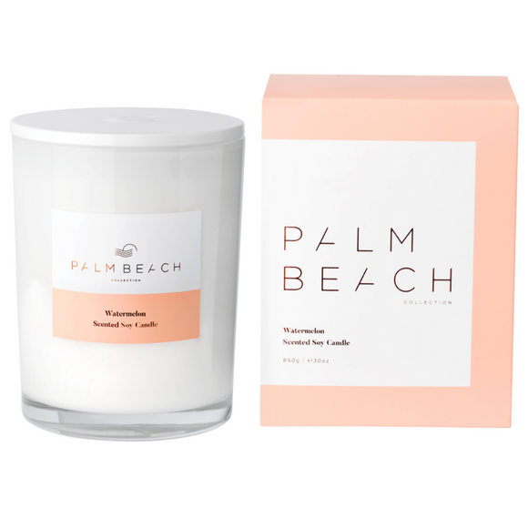Palm Beach Deluxe Candle 850g - Multiple Scents