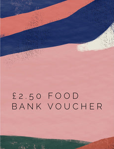 £2.50 food voucher for Everton Nursery Food bank