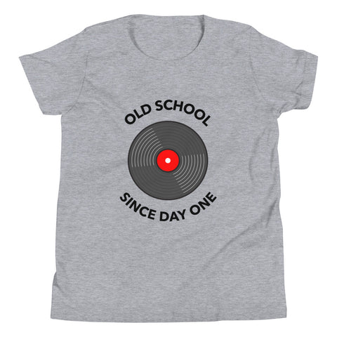 Old School Since Day One Youth T-Shirt - Reluctant Trendsetter
