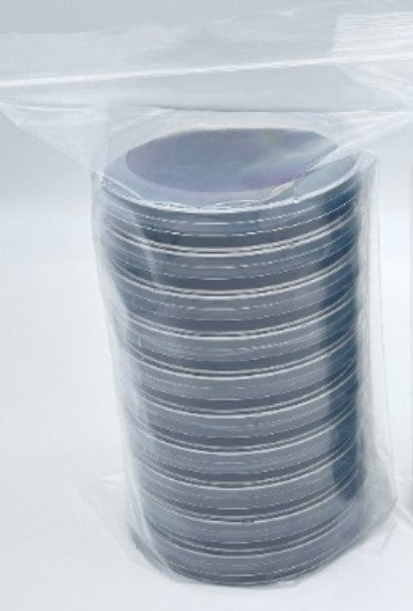 10 Fungal Carbon Agar Custom Petri Dishes