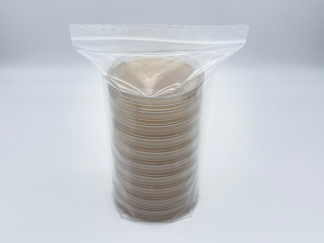 10 Fungal Gellan Gum Custom Petri Dishes
