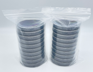 20 Potato Dextrose Gellan Gum Custom Petri Dishes