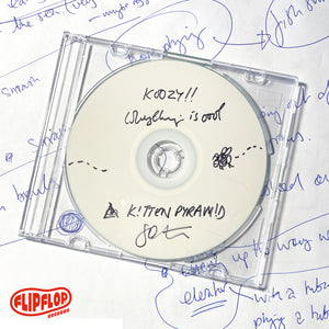KOOZY!! Album White Label CD **signed**