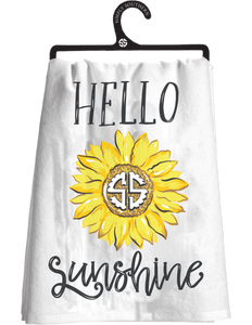 Hello Sunshine Simply Southern Kitchen Towel