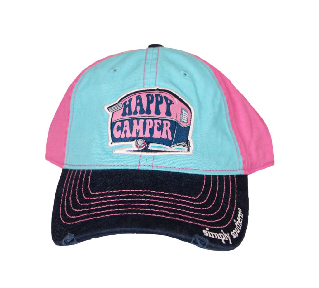 Happy Camper Simply Southern Hat