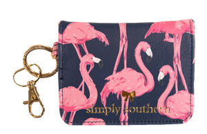 Simply Southern Flamingo Butterfly Style Wallet