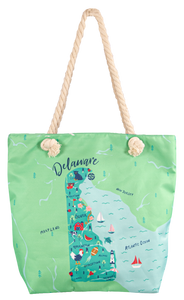 Delaware State of Mind Simply Southern Tote Bag