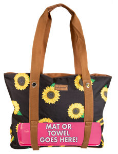 Beach Sunflower Simply Southern Bag