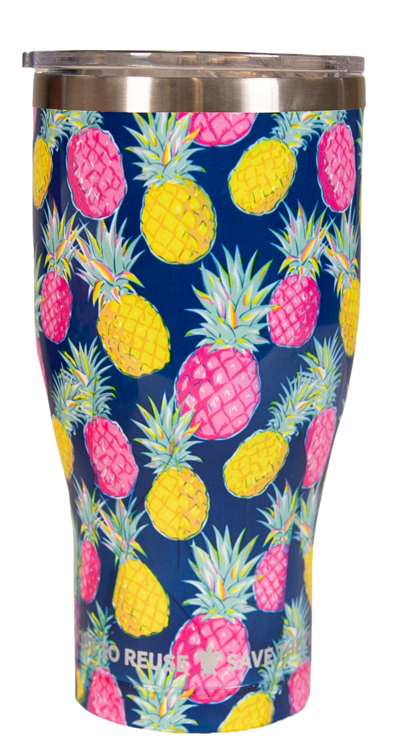 Pineapple Simply Southern Tumbler 30 oz