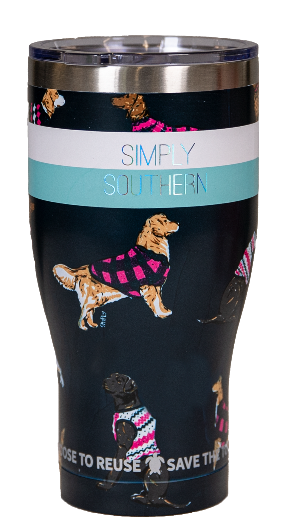 Simply Southern 30oz Tumbler DOGS