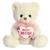 BEST MOM Stuffed Animal Plush Bear 10
