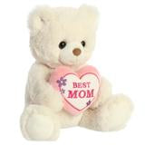 BEST MOM Stuffed Animal Plush Bear 10""