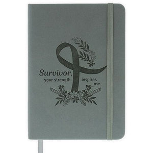 Survivor, You Strength Inspires Me Notebook